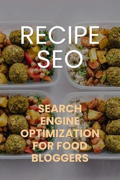 How to make sure that Search Engines love your food blog and that every recipe reaches its full potential. Recipe SEO 101.  #foodblogging Make Blog, How To Start A Blog, Seo Marketing, Media Marketing, Seo Help, Seo Software, Seo Tutorial, Seo For Beginners, Seo Training