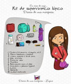 Diario de una Mariposa: Kit de supervivencia Lúpica