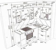 New small kitchen remodel ikea layout Ideas Kitchen Cabinets Drawing, Kitchen Drawing, Kitchen Cabinets Decor, Home Decor Kitchen, Rustic Kitchen, Interior Design Kitchen, Kitchen Furniture, Furniture Stores, Kitchen Corner