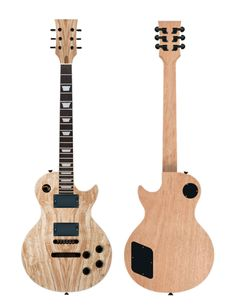 Traditional LP shape body Mahogany (multiple piece) with spalted laminate top Mahogany/Rosewood set-in Neck with Trapezoid inlays HH pickup routing 10mm tuner hole sizing Gotoh GE103-BT + Gotoh GE101-ZT Bridge configuration Choice of pickups, wiring and electronics