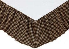 Farmhouse Star Twin Bed Skirt