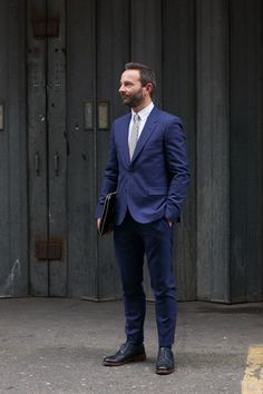 TheJournalofStyle-Grunwald-navy-suit | Suiting | Pinterest | Navy