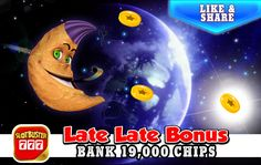 ☆☆☆ Late Late Bonus ☆☆☆ Click Here For Free Chips > https://apps.facebook.com/slotbuster?utm_source=fanpage&utm_medium=LateLateBonus&utm_campaign=10142016&bonusPackId=19692 < Hit Those Slots! #slotgames