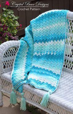 Breezeway Afghan Crochet Pattern