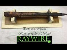 Pottermore Inspired: How to Make a Wand - YouTube