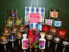 Candles + Escape to the Tropics = a great #FragranceFan haul! <3