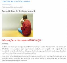 Diário: mãe de autista: Curso online autismo infantil