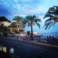 Promenade des Anglais, Nice.