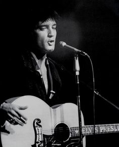 livealittlelal:    thewonderofelvis:    Elvis performing his opening concert at the International Hotel, Las Vegas, on July 31, 1969.    Wow. This isn't just me fangirling, but he was truly beautiful.