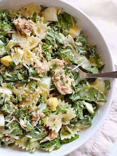 Kale Salmon Caesar Salad 17 Mouthwatering Ways To Enjoy Spring Green Veggies Canned Salmon Recipes, Seafood Recipes, Cooking Recipes, Healthy Recipes, Salmon Salad Recipes, Delicious Recipes, Can Salmon, Salmon Pasta, Sides With Salmon