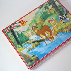 PUZZLE 99 PIÈCES BAMBI DISNEY / FAVORIT 80'S, VINTAGE, €12.00 by Stereo Fields Forever