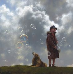 Love his paintings! So funny !! Jimmy Lawlor.