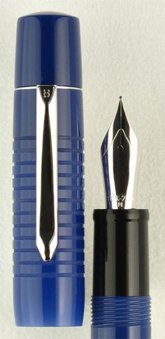 New Bexley Stalwart fountain pen in regal blue from nibs.com