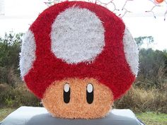 Mario Bros Mushroom by Maria Eugenia K, via Flickr