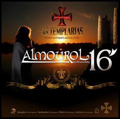 As Templárias em Almourol 2016 -  3e rencontre officielle (annuelle) d'As Templárias (les Templières) qui se tiendra, sur les rives du Nabão et à proximité du château d'Almourol (Vila Nova da Barquinha, Portugal), du 16 au 21 juin 2016.