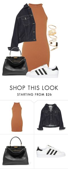 """We don't know where we're going"" by pageslearntothink on Polyvore featuring Topshop, Fendi, adidas Originals and BP."