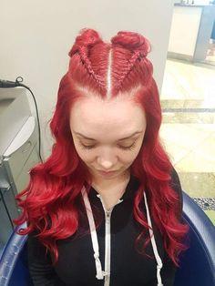 @hollyshairaffair Dreadlocks, Hair Styles, Beauty, Hair Plait Styles, Hairdos, Hair Looks, Cosmetology, Haircut Styles, Dreads