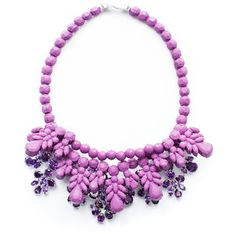 Ek Thongprasert X Natasha Goldenberg Purple Anna Necklace