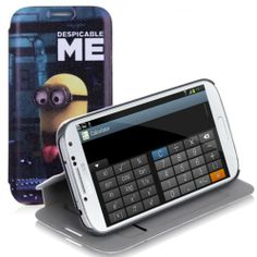 2.99 Shipping This phone case sell at http://www.handbagloverusa.com/ Minions Cartoon Stand Wallet Case for Samsung Galaxy S4