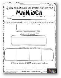 Resultado de imagen para main idea graphic organizer