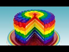 Rainbow Cake: How to Make