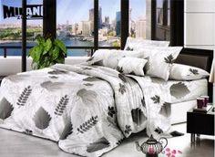 Milano obliečky Bavlnený satén 21, 140x200, 70x80cm Comforters, Bedding, Blanket, Home, Creature Comforts, Blankets, Bed Linen, Ad Home, Homes