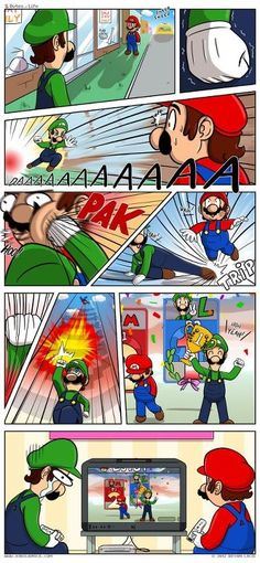 THE ONLY WAY LUIGI COULD EVER WIN.