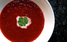 Gingered Beet Soup