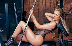 Khloe Kardashian Gets Physical In Her Most Revealing Photo Shoot Yet