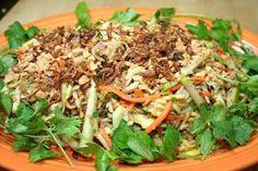 SPICE ISLAND VEGAN: Vietnamese Green Mango Salad