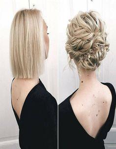 Pretty Blonde Hairs Short Style