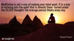 Deepak Chopra, Meditation Quotes, Mindfulness, Thoughts, Google, Movie Posters, Image, Film Poster, Consciousness