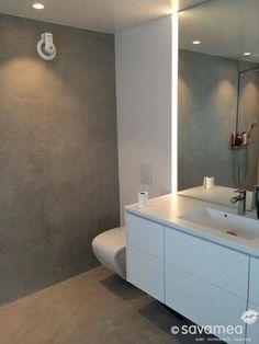 Ein stylisches Bad ist für viele Menschen wichtiger, als ein neues Wohnzimmer, da das Bad zum privaten Spa-Bereich avanciert. #Savamea macht es möglich. #Fugenlos #glücklich!