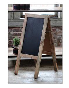 TWO-SIDED SIDEWALK CHALKBOARD~A Frame Sandwich Board~ Country WEDDING DECOR #Unbranded #Country