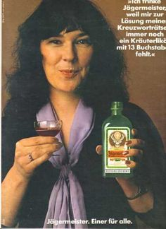 Jagermeister's German (1979) Been around longer than you might have thought.