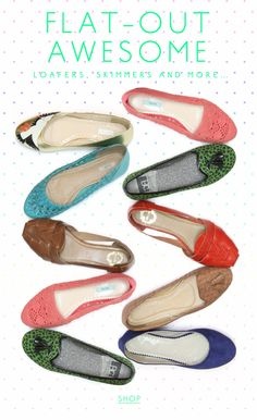 urban outfitters flats....i want them all!