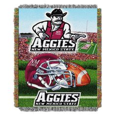 NCAA Northwest Tapestry Throw Blanket New Mexico State Aggies - 48 x 60