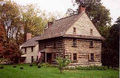 The Harlan House, 18th Century Quaker farmhouse, Pennsylvania