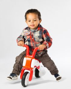 We found a terrific new first balance bike for toddlers