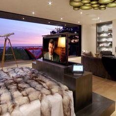 Stealth motorized tv lift