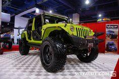 2012 SEMA VPR Gecko 4-Door Jeep JK Wrangler