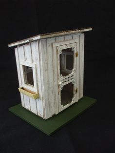 Dollhouse Miniature Half Scale Artisan Potting Shed