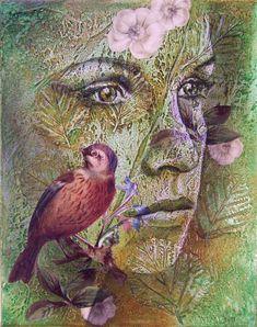 Carrie Vielle | pintor canadense dos meios mistos via tuttartpittutas