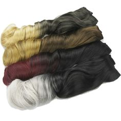Soowee Long Curly Black Gray Ombre Hair High Tempreture Fabric Synthetic Hair Accessories Women Clip in Hair Extensions Black To Grey Ombre Hair, Clip In Hair Extensions, Dip Dye, Long Curly, Synthetic Hair, Pretty Hairstyles, Hair Pieces, Curly Hair Styles, Hair Accessories