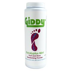 GIDDY all natural foot and shoe deodorizer powder comes in a 6 ounce bottle and fights odor, freshens feet, shoes and sneakers. This is a great product for climbers, barefoot minimalist, cyclists, hikers or anybody that needs a little relief! Product is small batch manufactured in the USA using all natural ingredients. Ingredients: Kaolin (White) Clay Arrowroot Powder Sodium Bicarbonate (Baking Soda) Eucalyptus Essential Oil Peppermint Essential Oil Rosemary Oil Extract Lavender Essential… Eucalyptus Essential Oil, Tea Tree Essential Oil, Essential Oils, Deodorize Shoes, Sodium Bicarbonate Baking Soda, Baking Soda Benefits, All Natural Skin Care, Natural Deodorant, White Clay