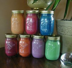 Vicks Vapor Candles!  Keep this post for pricing when I sell them at the craft show.  No recipe here.