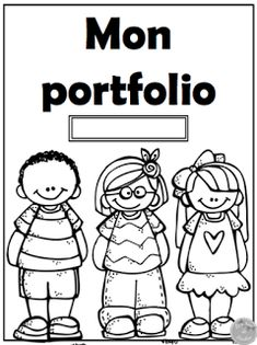 Un peu d'aide pour vos portfolios. Back To School Art Activity, Kindergarten Portfolio, French Language Lessons, French Education, Student Portfolios, French Classroom, Bulletins, French Immersion, Preschool Education