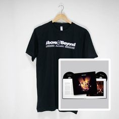 Above & Beyond Acoustic II Merchandise | Acoustic Special Edition Photographic Book (CD/DVD) & Black Tour T-Shirt   #CD #DVD #photography #t-shirt #tour #bundle #aboveandbeyond #ABAcoustic #AcousticII #merchandise #musiclabel #recordlabel #Anjunabeats #Anjuna
