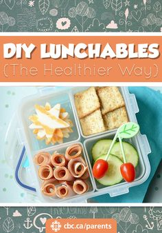 <p> The convenience of a pre-packaged lunch, but healthier!</p>