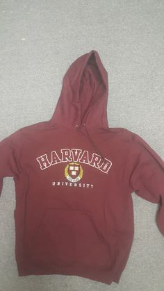 e4eea1864fa5a Harvard University Hoodie Lightly Used M Champion Brand Fleece Athletic Fit  #fashion #clothing #